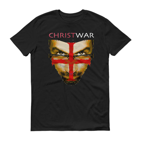 Short sleeve t-shirt / Christwar Institute Face Cross Fundraiser T-shirt - Jazart Store