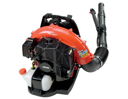 PB-580T 215 MPH 510 CFM 58.2cc Gas Backpack Blower with Tube Throttle