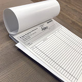 "Carbonless NCR Forms Printing 2-Part 5.5""x8.5"" 1-Side Full Colour - NCR Print Canada"