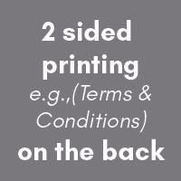 "Carbonless NCR Forms Printing 2-Part 5.5""x8.5"" 2-Side Grayscale - NCR Print Canada"
