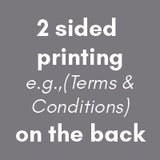 "Carbonless NCR Forms Printing 2-Part 5.5""x8.5"" 2-Side Full Colour - NCR Print Canada"