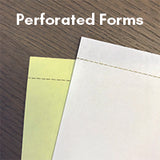 "Carbonless NCR Forms Printing 2-Part 8.5""x11"" 1-Side Full Colour - NCR Print Canada"