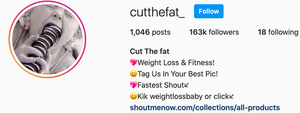 Cutthefat_ Feature - 163,000  Followers!