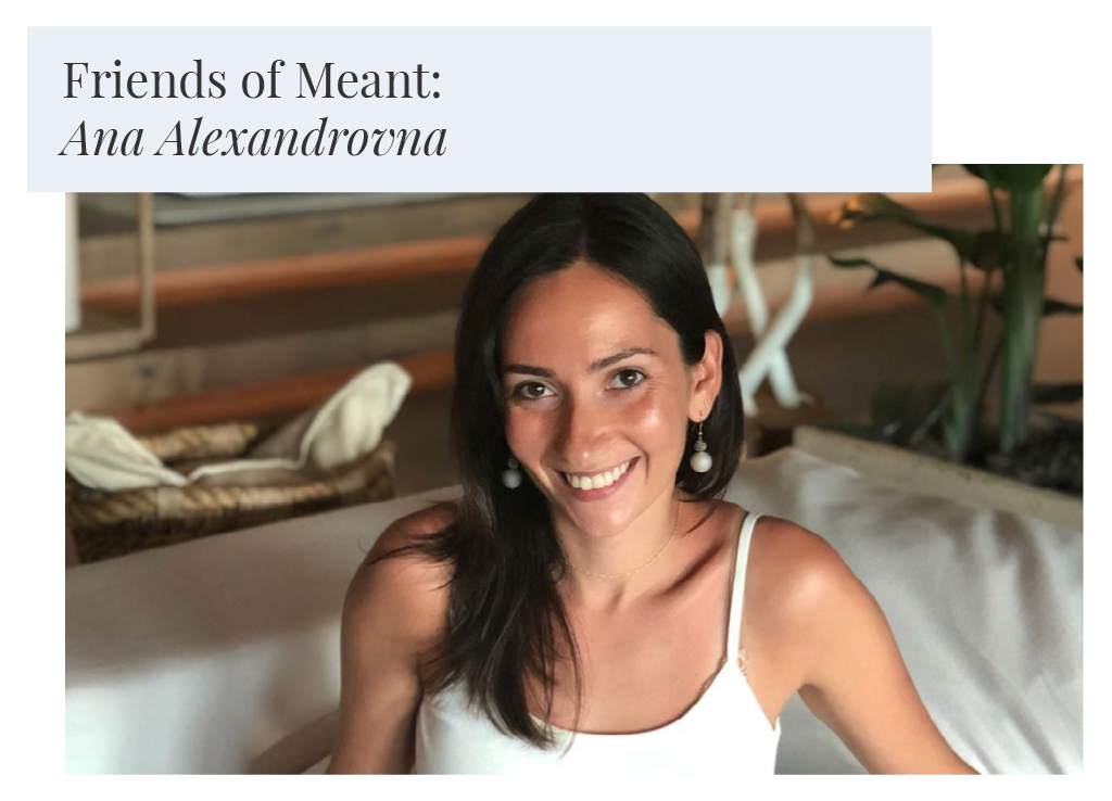 Friends of Meant: Ana Alexandrovna of Minori