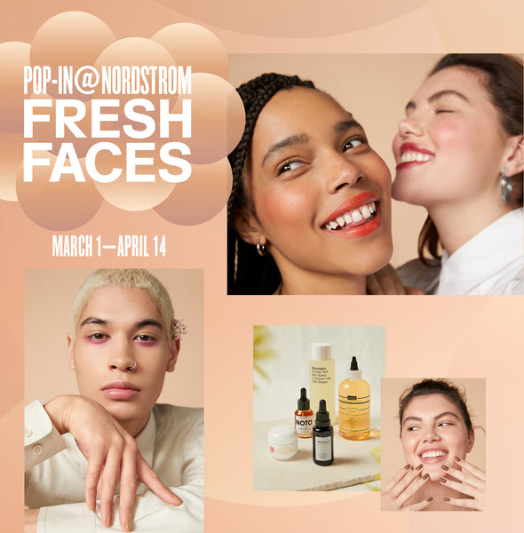 Nordstrom Pop-In Fresh Faces
