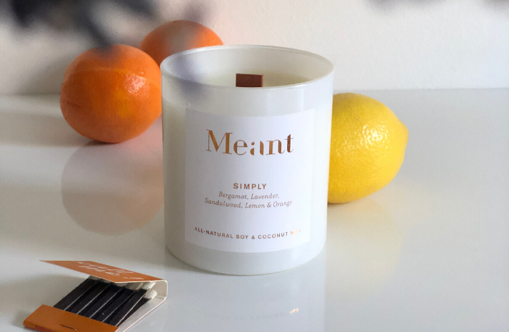 The Meant Simply Candle