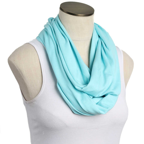 Aqua 100% Organic Cotton Nursing Scarf