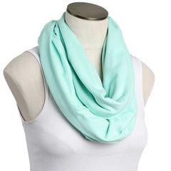 Mint 100% Organic Cotton Nursing Scarf