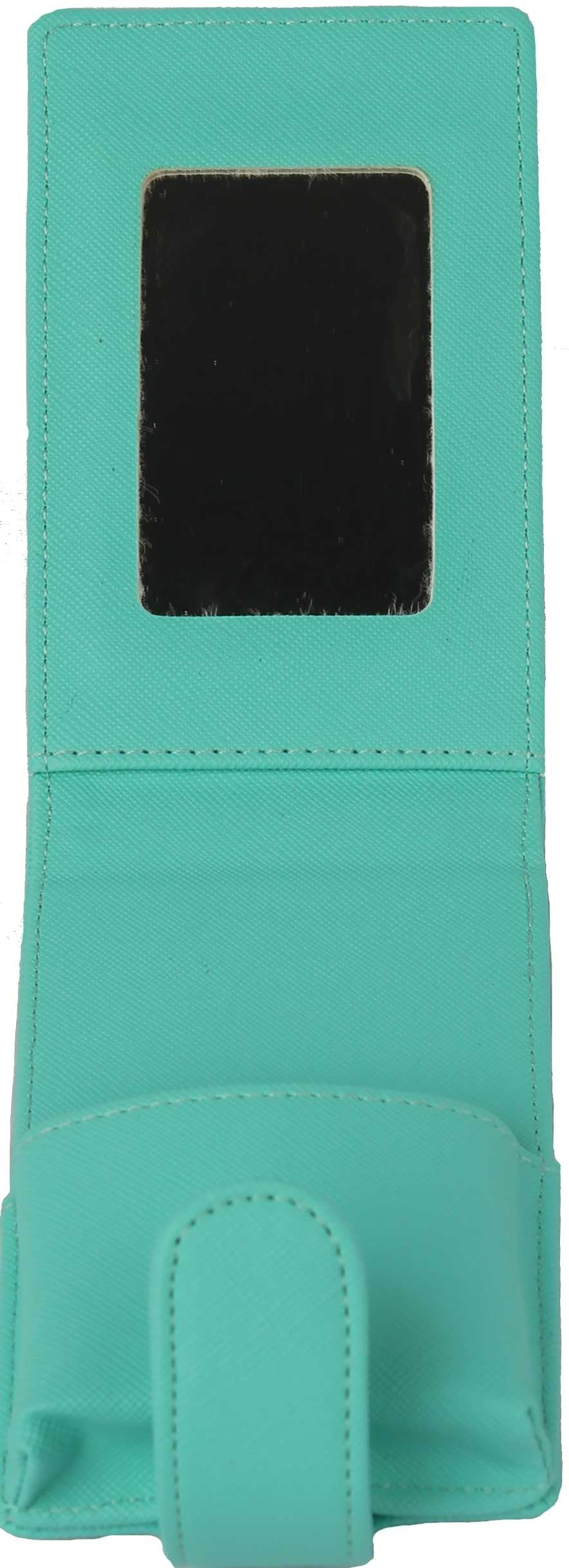 Lipstick Lip Gloss Pouch Carrying Case Aqua