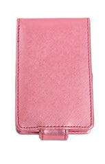 Lipstick Lip Gloss Pouch Carrying Case Pouty Pink Shimmer
