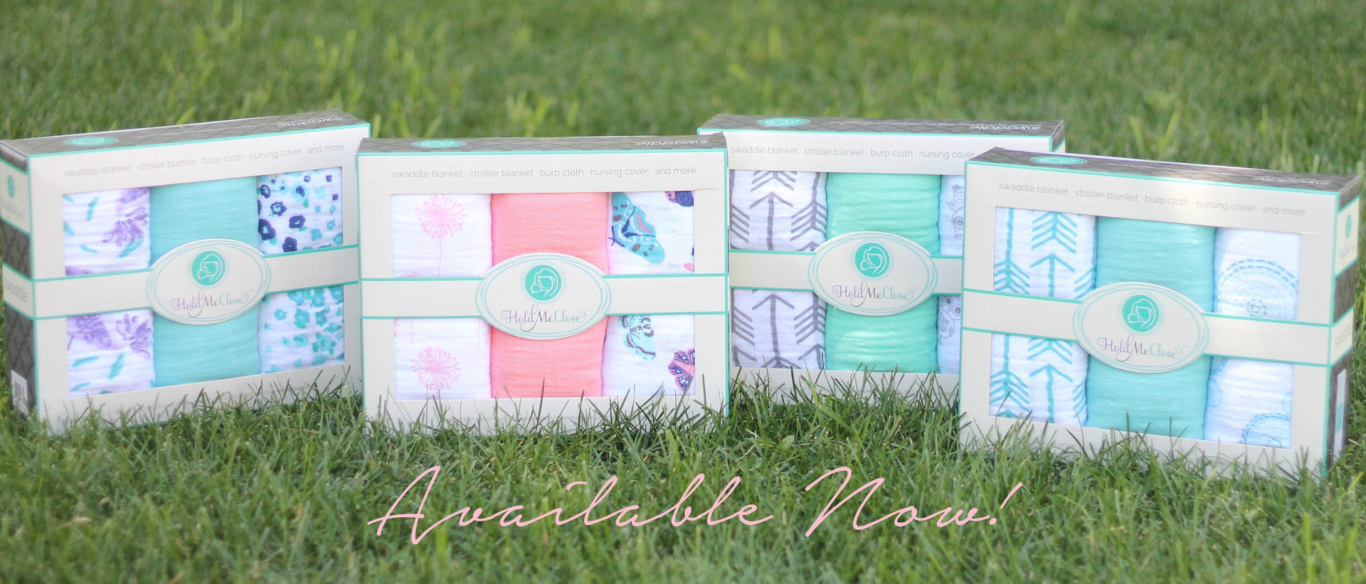 Hold Me Close Swaddle Blanket Sets Available Now