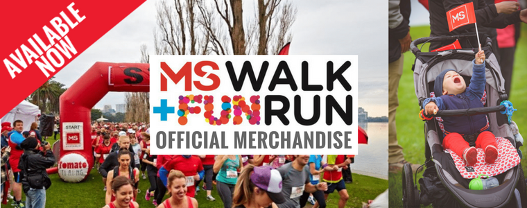 MS Walk + Fun Run Official Merchandise