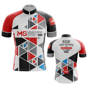 2018 MS Melbourne Cycle Classic Cut Event Jersey