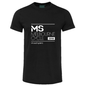 2018 MS Melbourne Cycle Event Tee