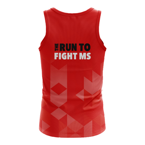 MS Half Marathon 2020 Event Run Singlet - MENS