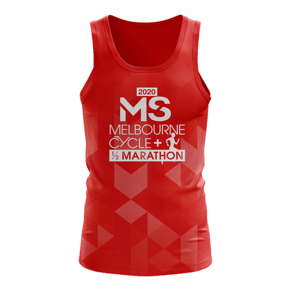 MS Half Marathon 2020 Event Run Singlet - WOMENS