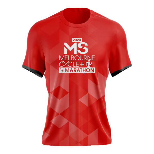 MS Half Marathon 2020 Run Shirt - MENS