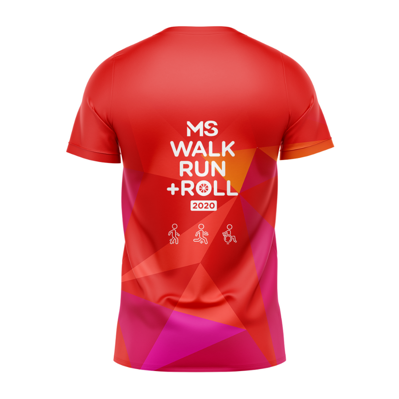 MS Walk Run + Roll 2020 Event Run Shirt - WOMENS