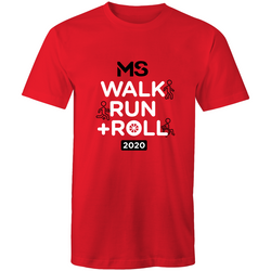2020 MS Walk Run + Roll Event T-Shirt - MENS