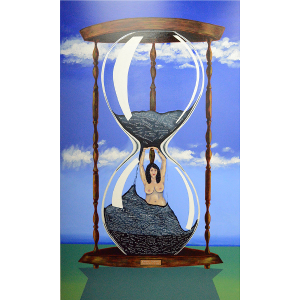 LIKE SANDS THROUGH THE HOURGLASS, SO ARE THE DAYS OF MY LIFE