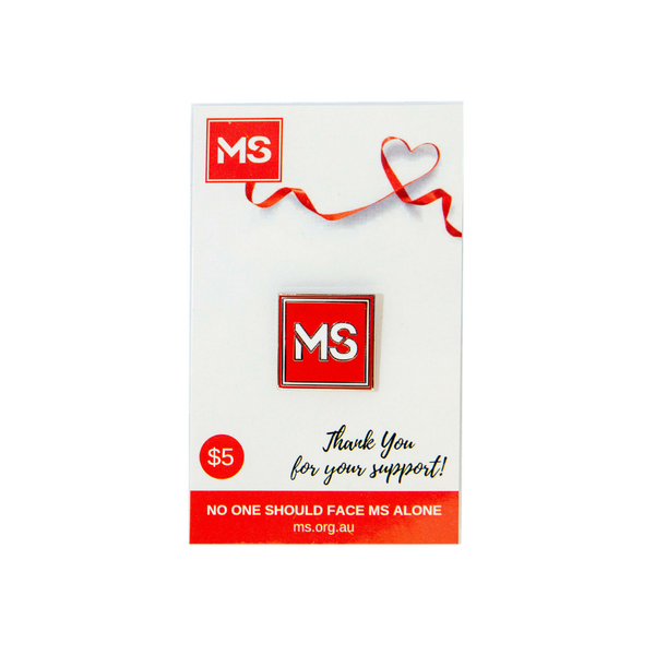 MS Lapel Pin