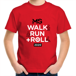 MS Walk Run + Roll 2020 Event T-Shirt - KIDS