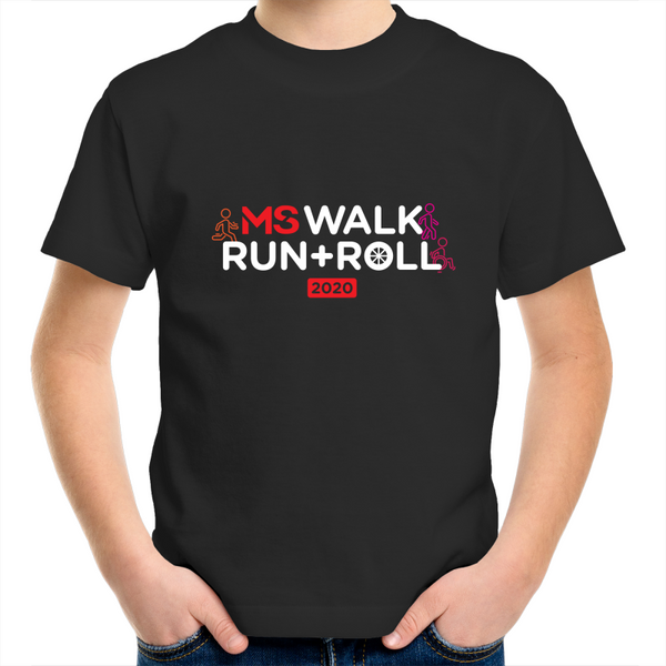 2020 MS Walk Run Roll Icon Tee - KIDS
