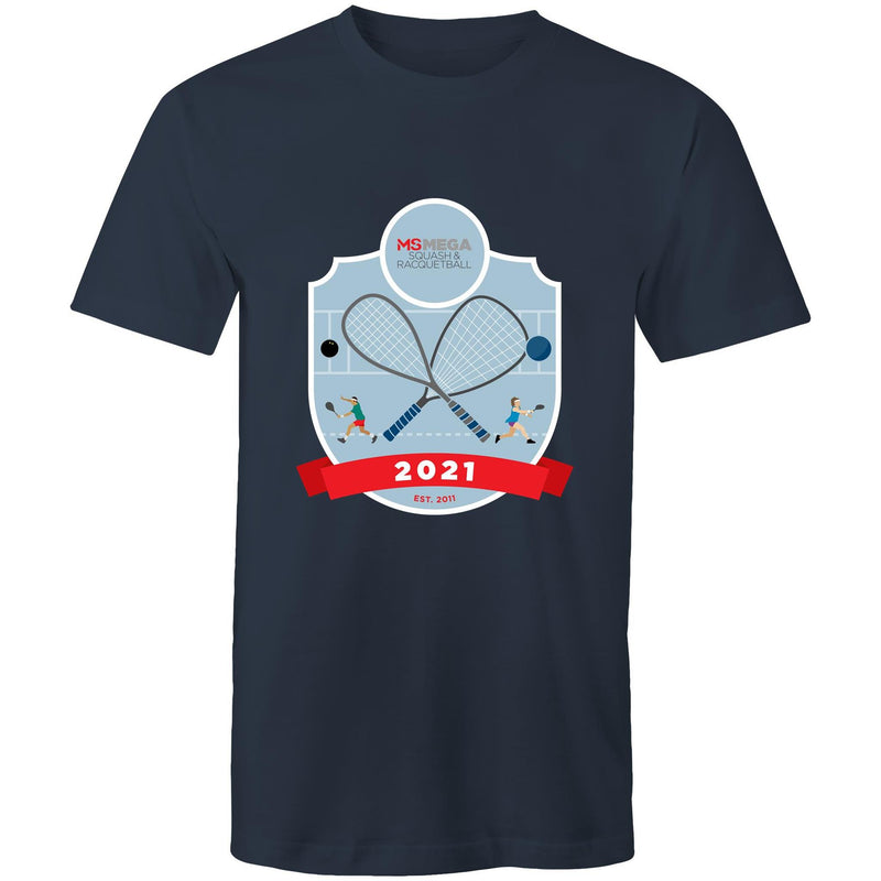 2021 MS Mega Squash & Racquetball Event T-Shirt - MENS