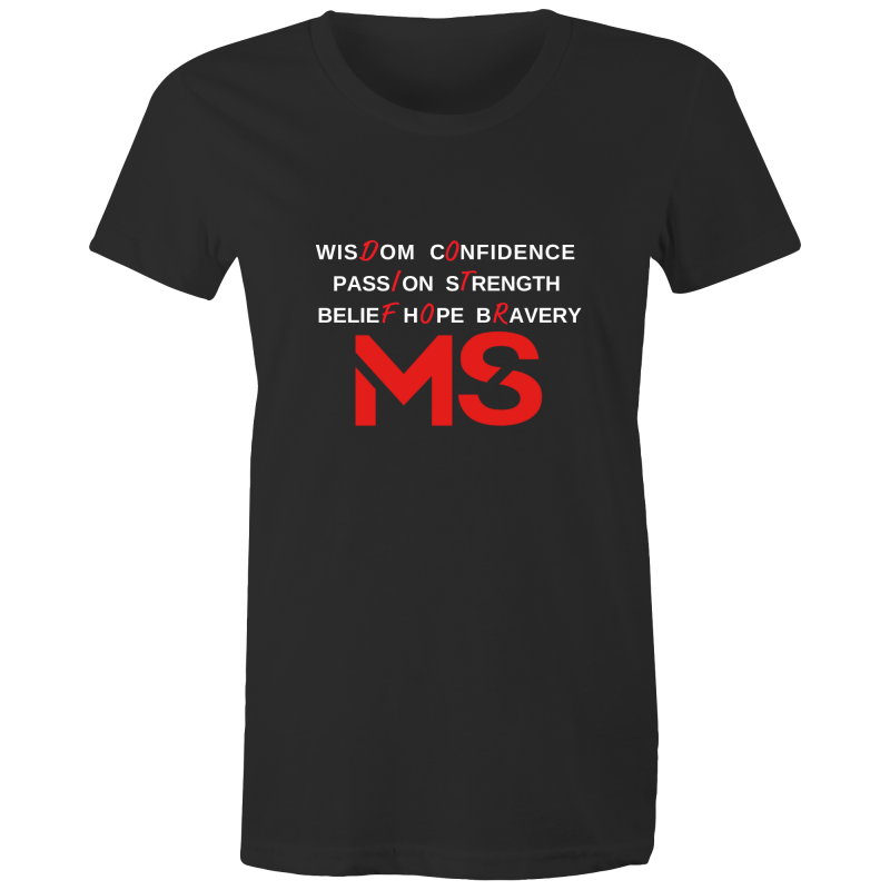 MS Awareness T-Shirt - Womens