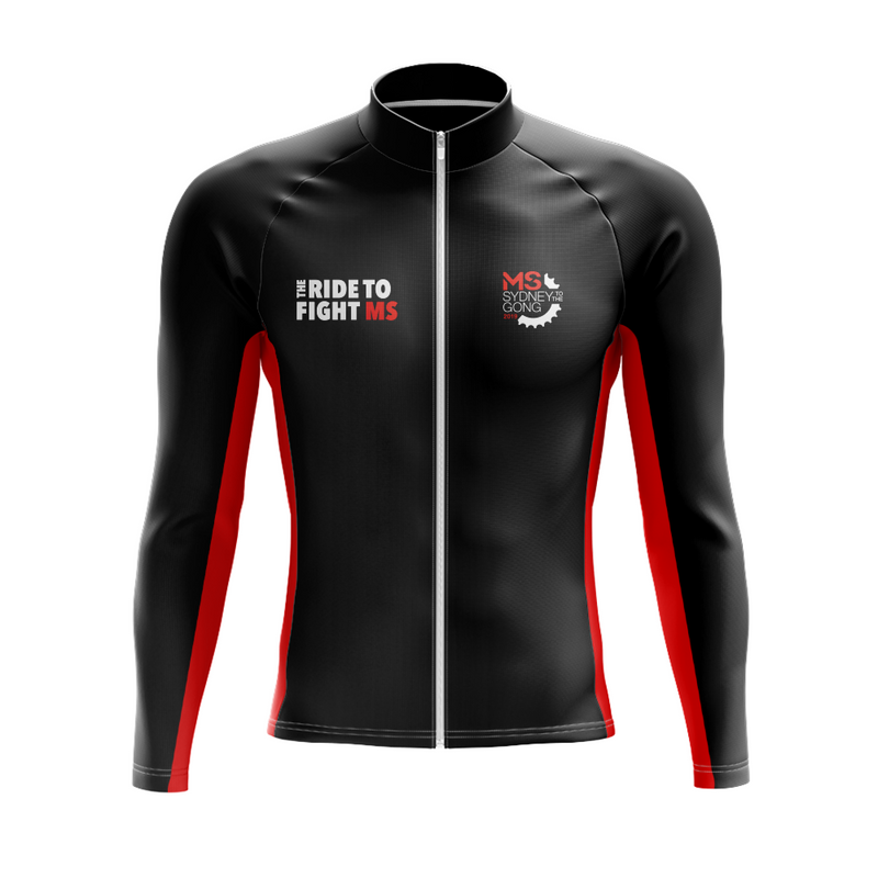 MS Gong Ride 2019 Cycling Jacket