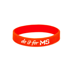 Do It For MS Silicon Wristband