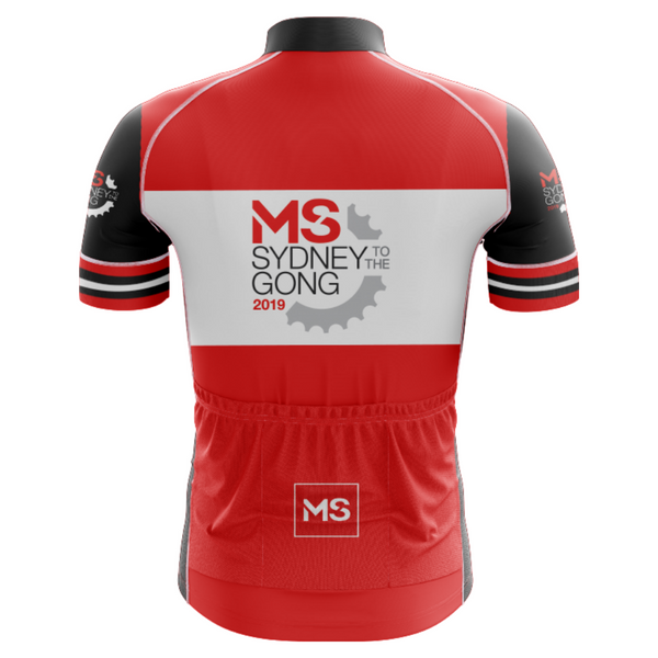 MS Gong Ride 2019 Event Jersey - MENS