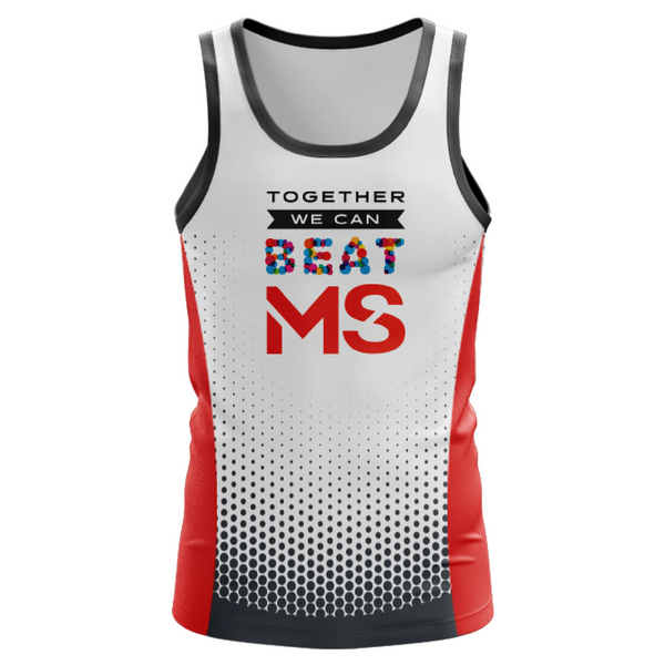 2018 MS Walk + Fun Run Event Singlet