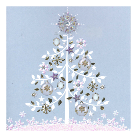 Christmas Cards - Jewel Tree (Pack of 10)