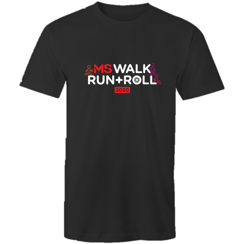 MS Walk Run Roll 2020 Icon Tee - MENS