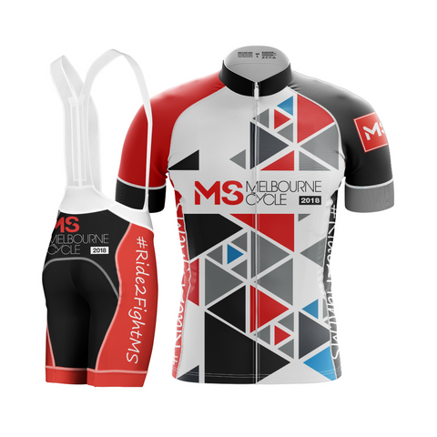 2018 MS Melbourne Cycle Women's Rider Kit