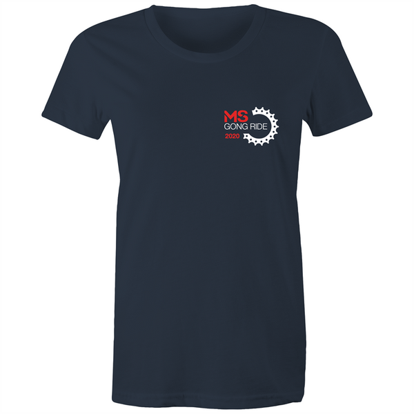 2020 MS Gong Ride Event Tee - WOMENS