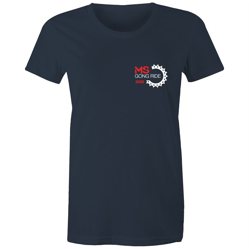 2020 MS Gong Ride Event T-Shirt - WOMENS