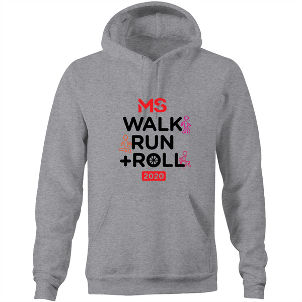 2020 MS Walk Run + Roll Event Hoodie