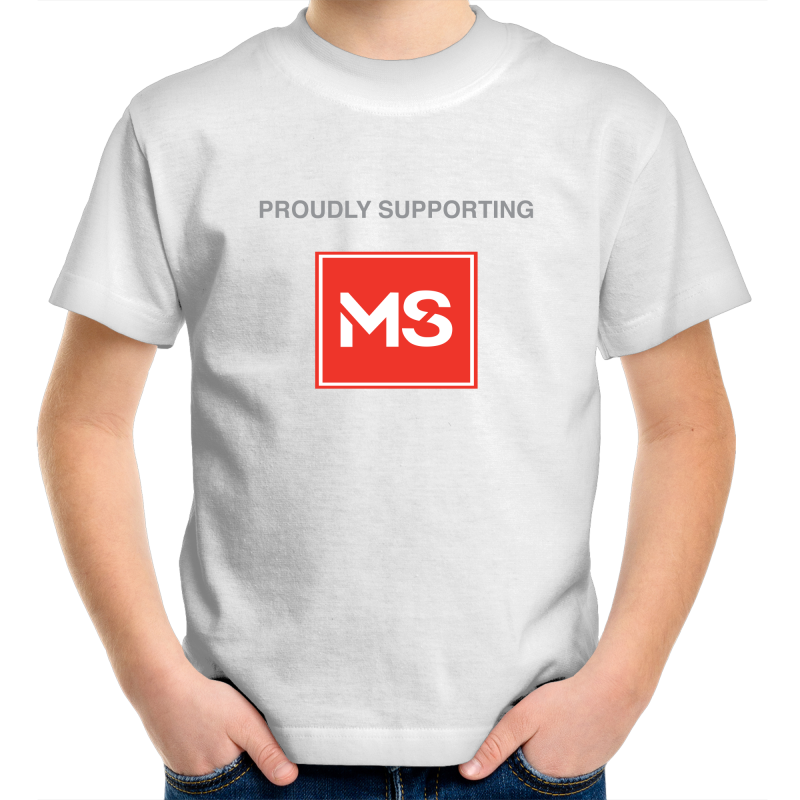 Kid's Cotton Supporter Tee