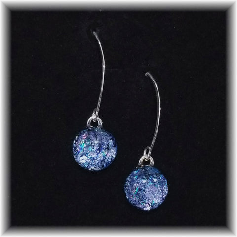Sterling Dangles - Denim