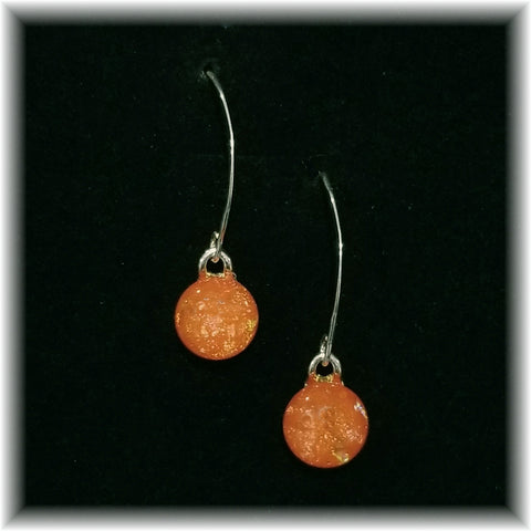 Sterling Dangles - Orange