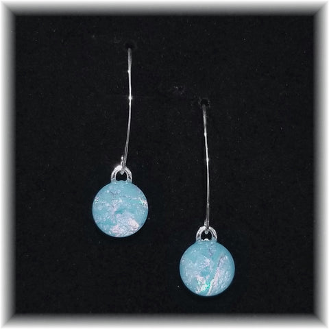 Sterling Dangles - Baby Blue