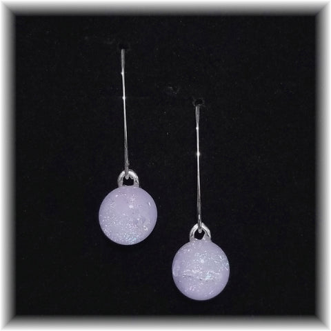 Sterling Dangles - Lavender