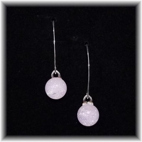 Sterling Dangles - Light Pink