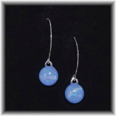 Sterling Dangles - Periwinkle