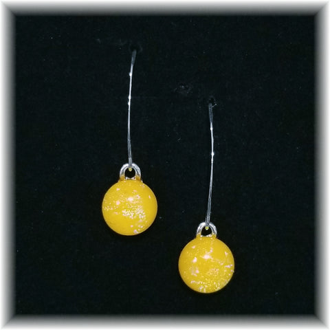 Sterling Dangles - Yellow