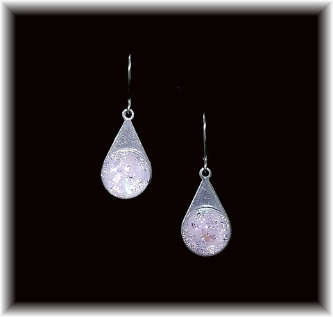 Light Pink Stainless Teardrop Earring