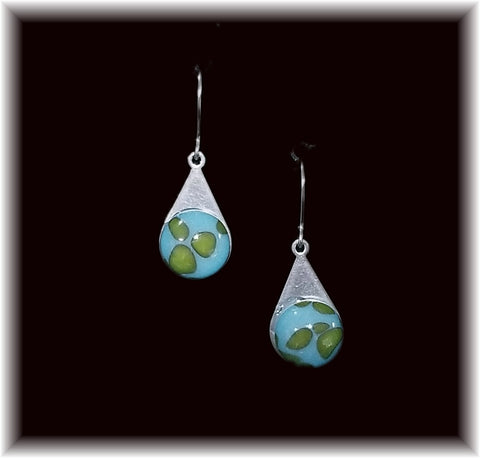 World Stainless Teardrop Earring