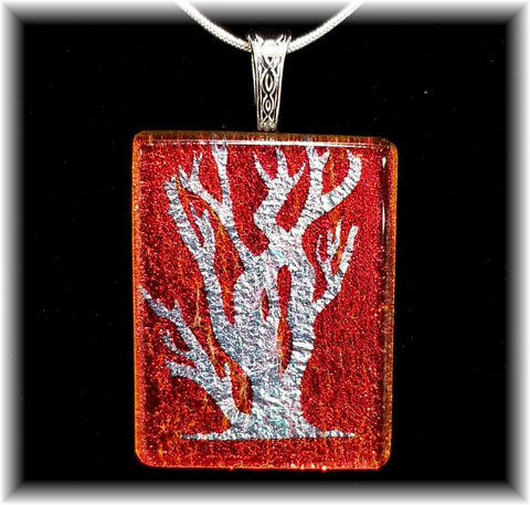 Dichroic Etched Tree of Life